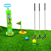 Plastic Clubs Golf Play Set Toy Indoor Outdoor Sport Game for Kids Children Toddlers 24 Inch