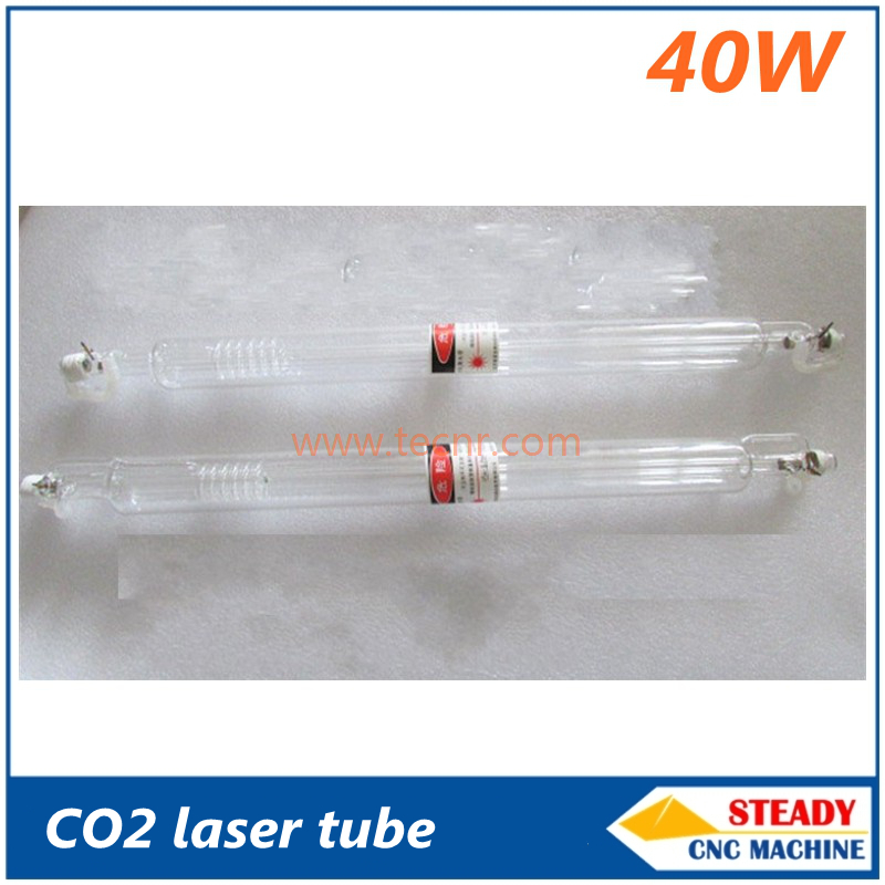 40W CO2 glass laser tube 700MM for CO2 laser engraving machine 1000 50 50 watt co2 laser glass tube for co2 laser engraving machine