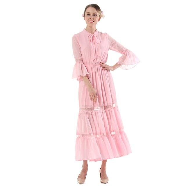 Sommer Vintage Spitze Langes Kleid Plus Größe Robe Femme Ete 2017 ...