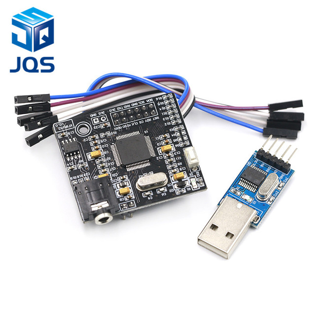 US $13 6 15% OFF|High end Speech Synthesis Module Chinese/English Speech  Synthesis XFS5152 Real Pronunciation TTS-in Replacement Parts & Accessories