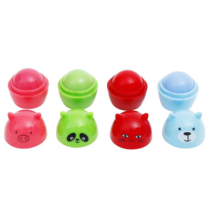 New Moisturizer Makeup Lipbalm,Animal Cosmetics Lip Balm Multiccolor Makeup Kit,Nutrious Lip Color Set,Easy To Wear Lipbalm,lip