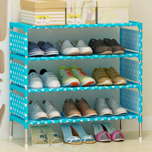 Modern minimalist home shoes organizer non-woven shoes cabinet furniture creative fashion shoes closet multi-purpose shoes rack