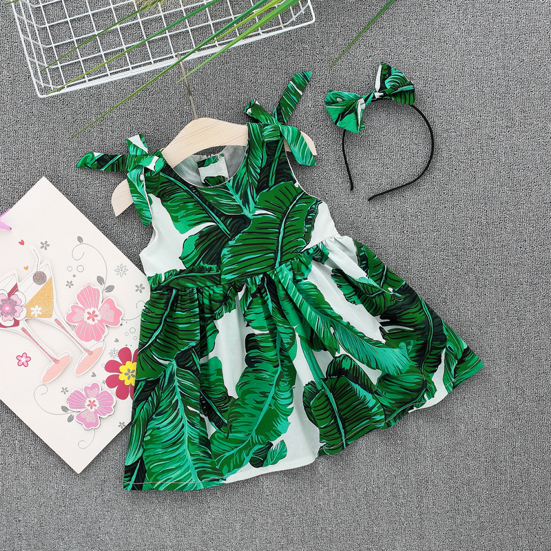 0-4Y Cute Kids Baby Girl Party Princess Dress Party Dresses For Girl Summer Kids tutu Dress Baby Clothing Toddler Clothes