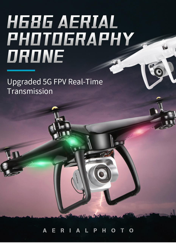 1 Drone 5G Wifi VS H68 Camera 1080P HD
