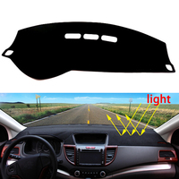 Car Dashboard Avoid Light Pad Instrument Platform Desk Cover Mats Carpets Auto Accessories For Peugeot 508