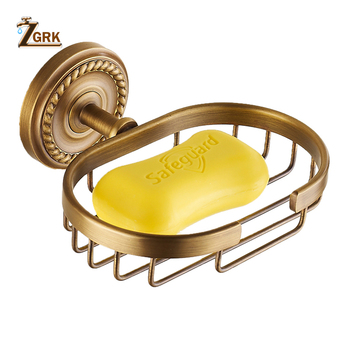 ZGRK Superior Space Brass Soap Dish 150mm Bathroom accessories Wall mounted soap box Anodizing Surface Kitchen Soap holder leyden new brass oil rubbed bronze soap dishes ceramic soap basket wall mounted shower soap dish holder bathroom accessories
