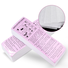 100pcs/pack Removal Nonwoven Body Cloth Hair Remove Wax Paper Rolls High Quality Epilator Strip