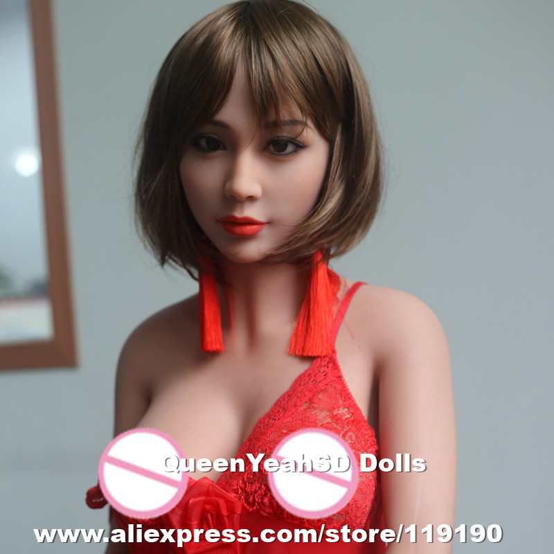 165cm Top quality lifelike silicone sex dolls, chinese love dolls, adult doll with real vagina anal pussy, oral sex products 168 cm high simulation real silicone sex dolls top quality soft vagina adult products lifelike male sex doll silica gel