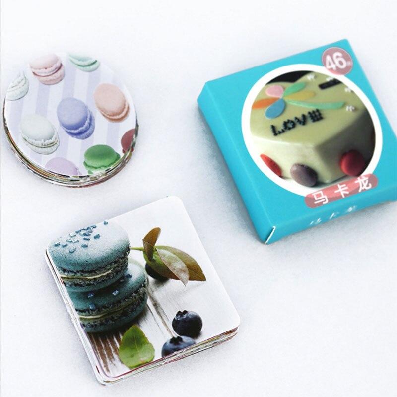 Купить с кэшбэком 46 Pcs/bag kawaii Macaron Mini Paper Decoration DIY Scrapbook Notebook Album  Sticker Stationery Kawaii Girl Paper Sticker