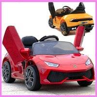 Veículo de quatro Rodas de Controle Remoto Carro Elétrico para Crianças Caçoa 12 V Passeio em Energia Da Bateria Elétrica RC Carros Licenciados de Mergulho MP3
