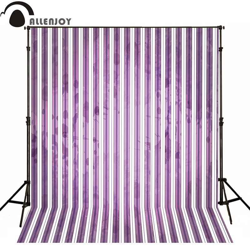 ALLEN JOY photographic background Violet elegant white lines photo backdrops for sale Without stand