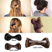 Novo Penteado Da Moda Harajuku Arco Grandes Laços Peruca Hairpin Grampos de Cabelo Para As Mulheres Meninas acessórios para o Cabelo Headwear Nupcial @ M23