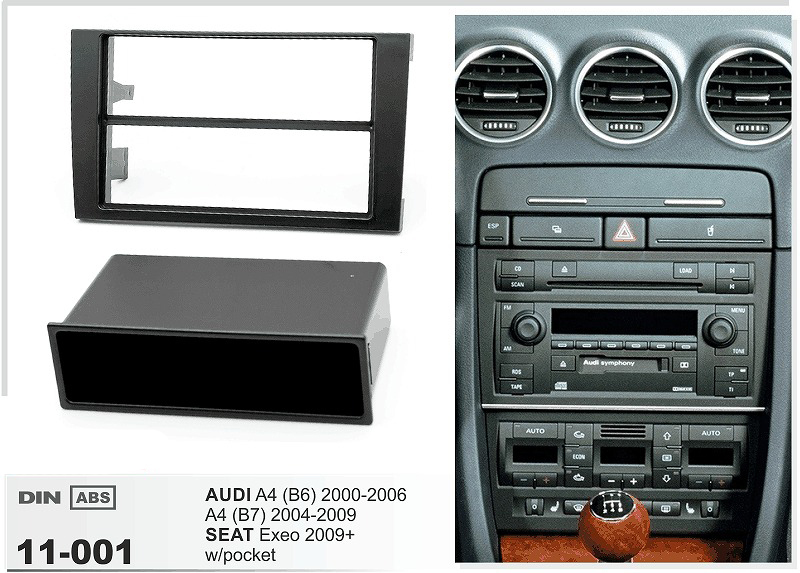 11 001 auto cd dvd radio facia install plate fascia dash. Black Bedroom Furniture Sets. Home Design Ideas