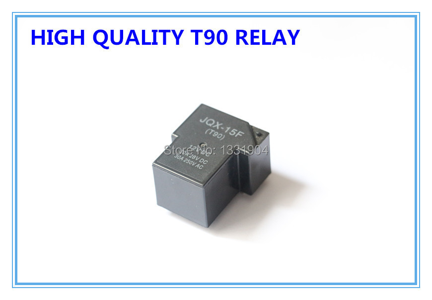 popular 30a relay buy cheap 30a relay lots from 30a relay 20pcs jqx 15f pcb power mini relay 30a 12v or 24v dc t90 relay same