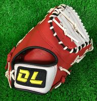 High Quality Professional Weave Cowhide Leather Baseball Gloves Tongue Blue Softball Infielder Gloves Adult Man Free