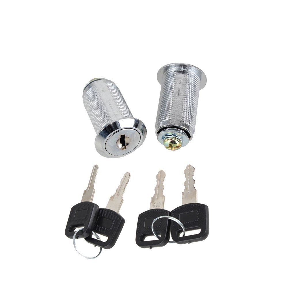 30mm Aluminium Alloy Cam Lock for Cupboard Locker Set of 2