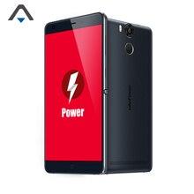 Оригинал Ulefone Мощность Оперативная память 3 ГБ Встроенная память 16 ГБ мобильного телефона Octa Core 5.5 дюймов отпечатков пальцев Смартфон 6050 мАч 4 г 1080 P FHD сотовом телефоне