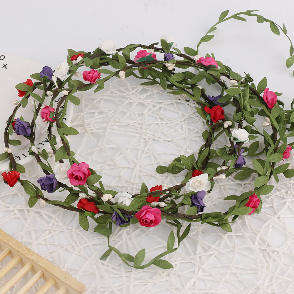 1pc Hot Sale New Fashion Women Lady Bohemian Style Wreath Flower