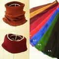 Moda de nova Unisex inverno tricô de lã Collar Neck Warmer anel Scarf versão coreana do lenço