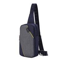 SINPAID Antitheft Shoulder Bag New Style Anti Theft Zipper Buckle Design Women Men Water Repellent Cross