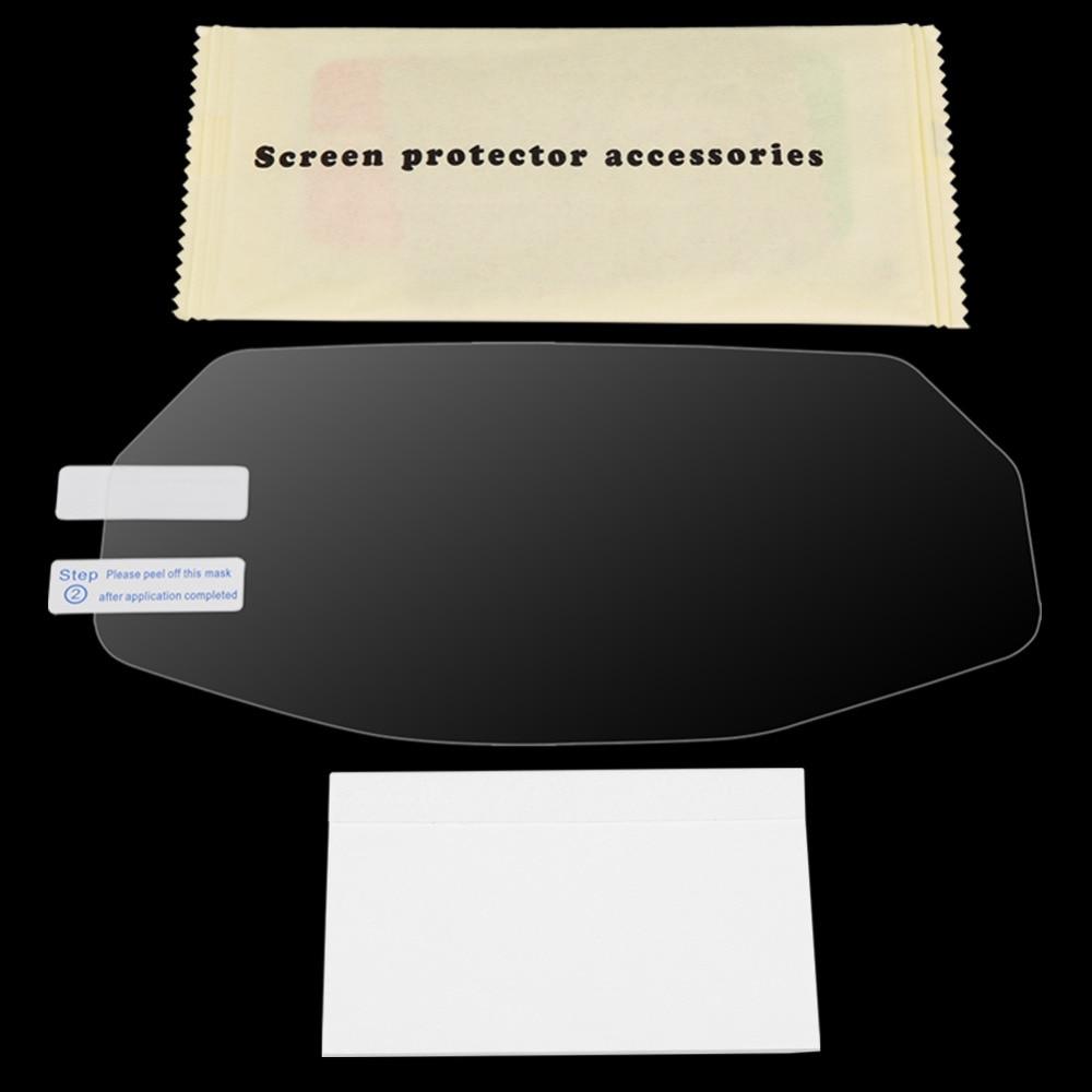 Grupo de película de protección contra arañazos Protector de pantalla para Ducati Monster 797/821/1200, fácil de limpiar y limpiar la tierra TPU película