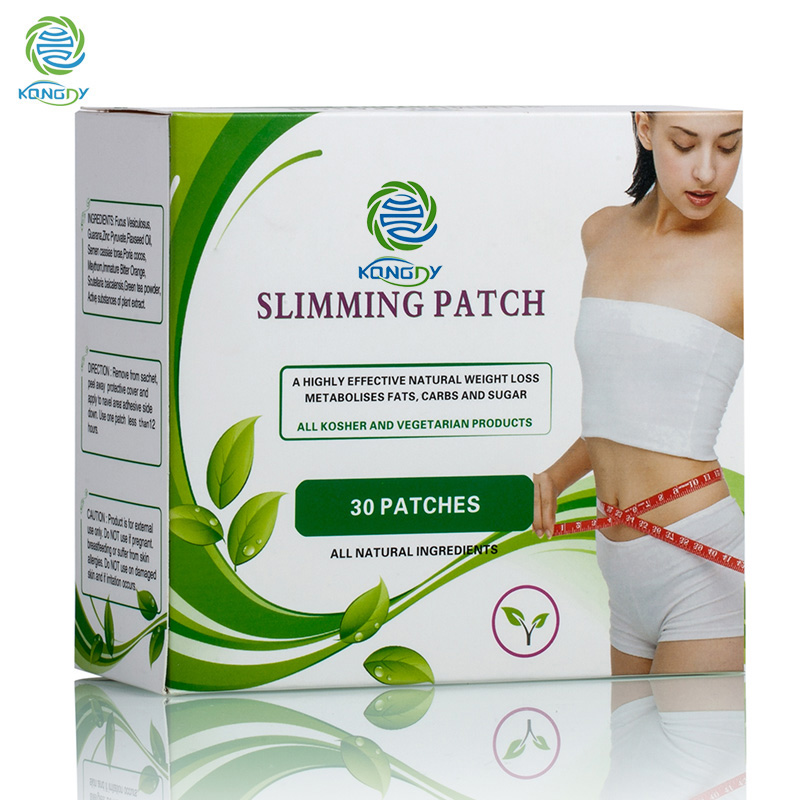 KONGDY Herbal Navel Slimming Patch Powerful Fat Burning Slimming 30 pieces/box Slimming Products to Lose Weight and Burn Fat 1