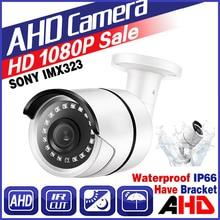 MELAT Surveillance Camera 720P 1080P 2.0Megapixel AHD CCTV Camera 30M Night Vision CCTV Camera IR Outdoor Waterproof Security цена