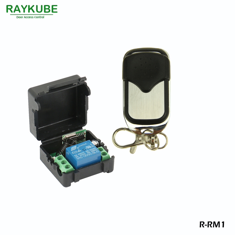 RAYKUBE Remote Control Kit 1V1 For Remote Open Electric Door Lock Control Module R RM1