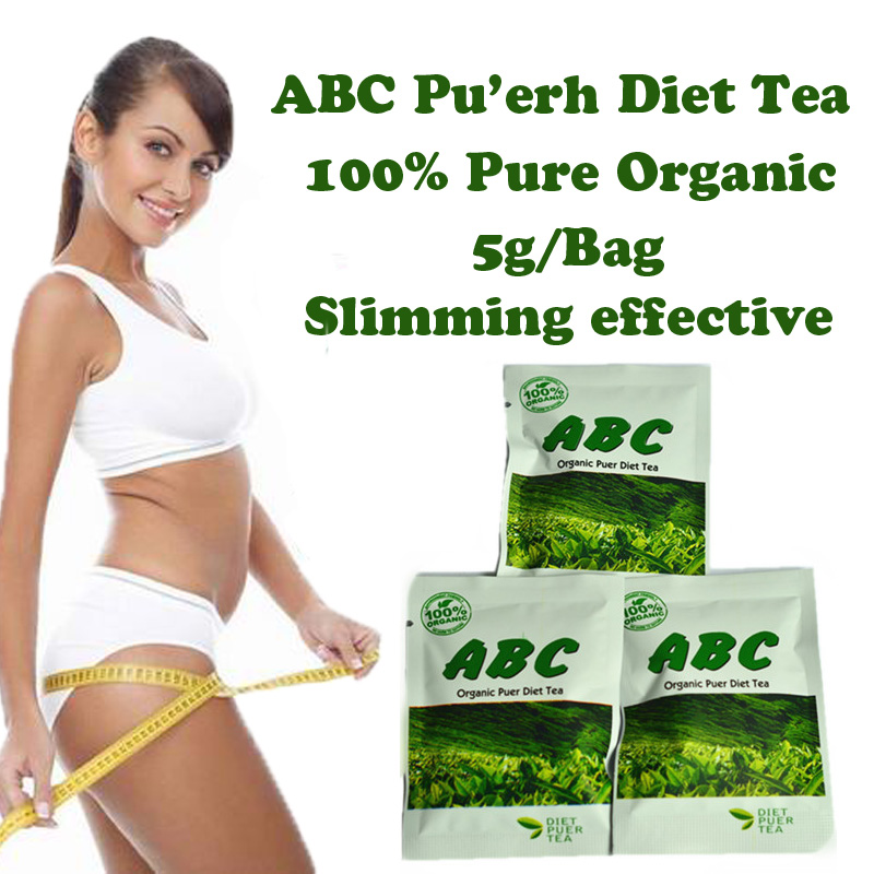 ( 30 bags ) ABC diet tea Puerh slimming herb tea weight...