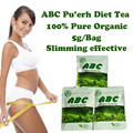 ( 30 bags ) ABC diet tea Puerh slimming herb tea weight loss burn fat effective for women Free Shipping