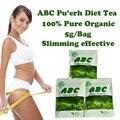 (30 sacos) ABC dieta do chá Puerh slimming o chá de erva perda de peso queima de gordura eficaz para as mulheres Frete Grátis