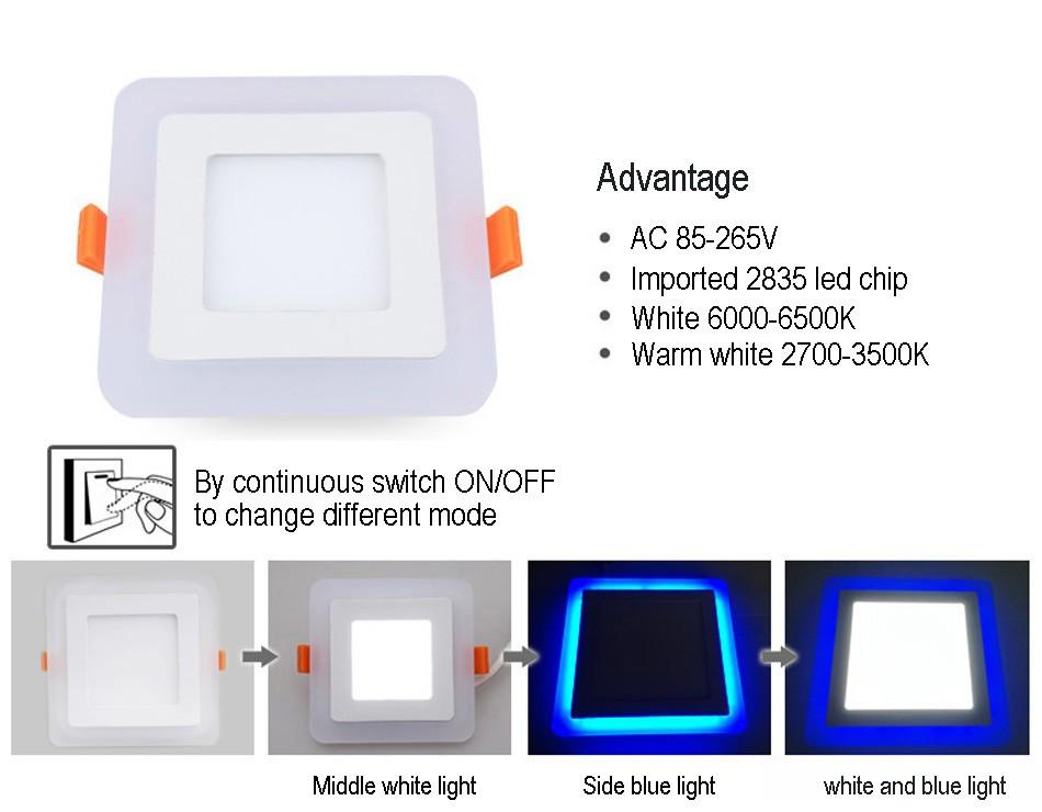 Double color led panel (29)