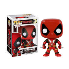 Funko pop Marvel toys DEADPOOL PVC Action Figure Collection model toys for Children birthday gift(China)