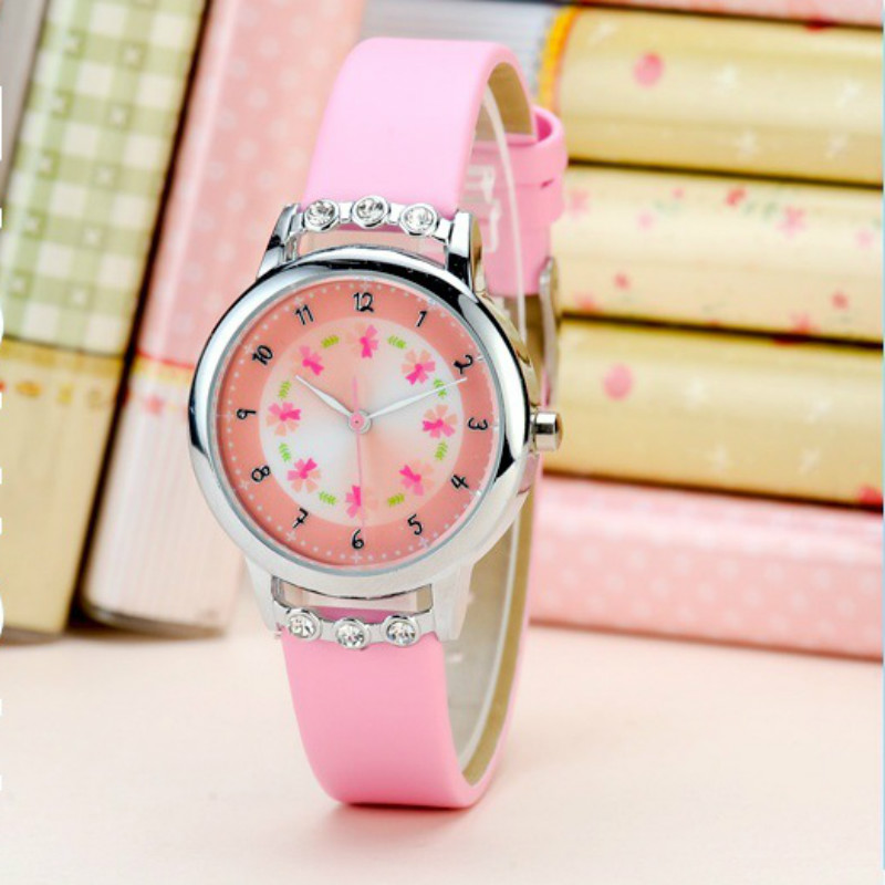 2019 Hot  High-grade Children Watch  Girl Waterproof Quartz Watch  Girls' Simple Cartoon  Kids Watches