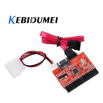 kebidumei 2 in 1 SATA to IDE Adapter IDE to SATA Converter 40 pin 2.5″ inch Hard Disk Driver Support for ATA HDD CD DVD Adaptor
