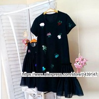 Children Clothing Mother And Daughter Hand Beaded Dresses 2 10 Years Old Child Baby Girl Vest