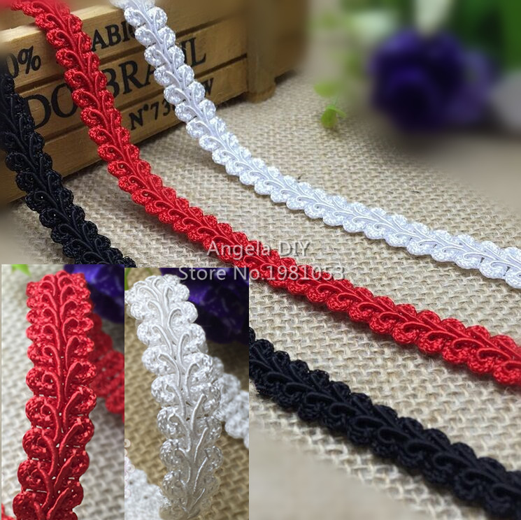 25Meters/ Lot Special Braided Lace Trim Lace Ribbon