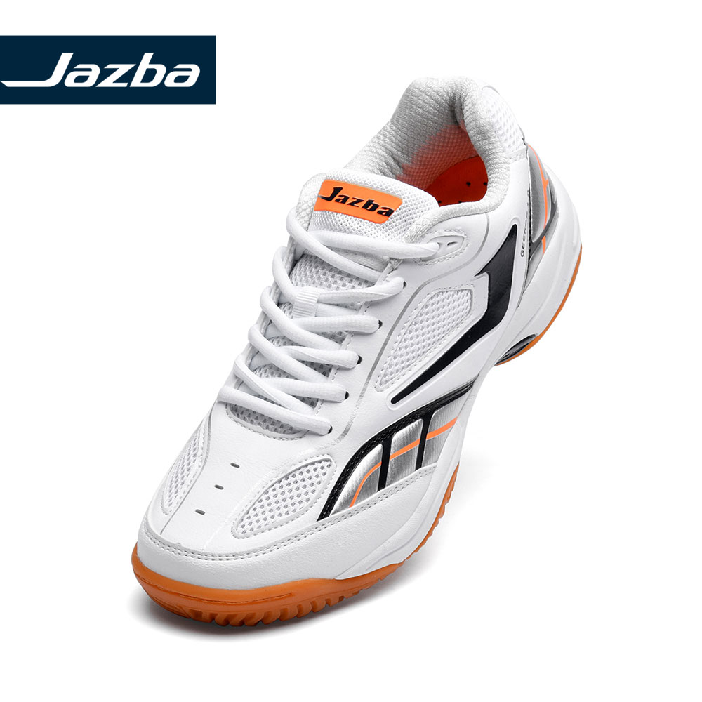 Jazba GECKOR 1.0 Badminton Shoe Men Professional Indoor Sports Tennis Shoes Squash Training Sneakers Rubber Volleyball