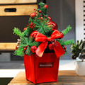Мини счетчик Рождественская елка Креативный Рождественский подарок ремесленник рождественский дом Рождественское украшение G1985
