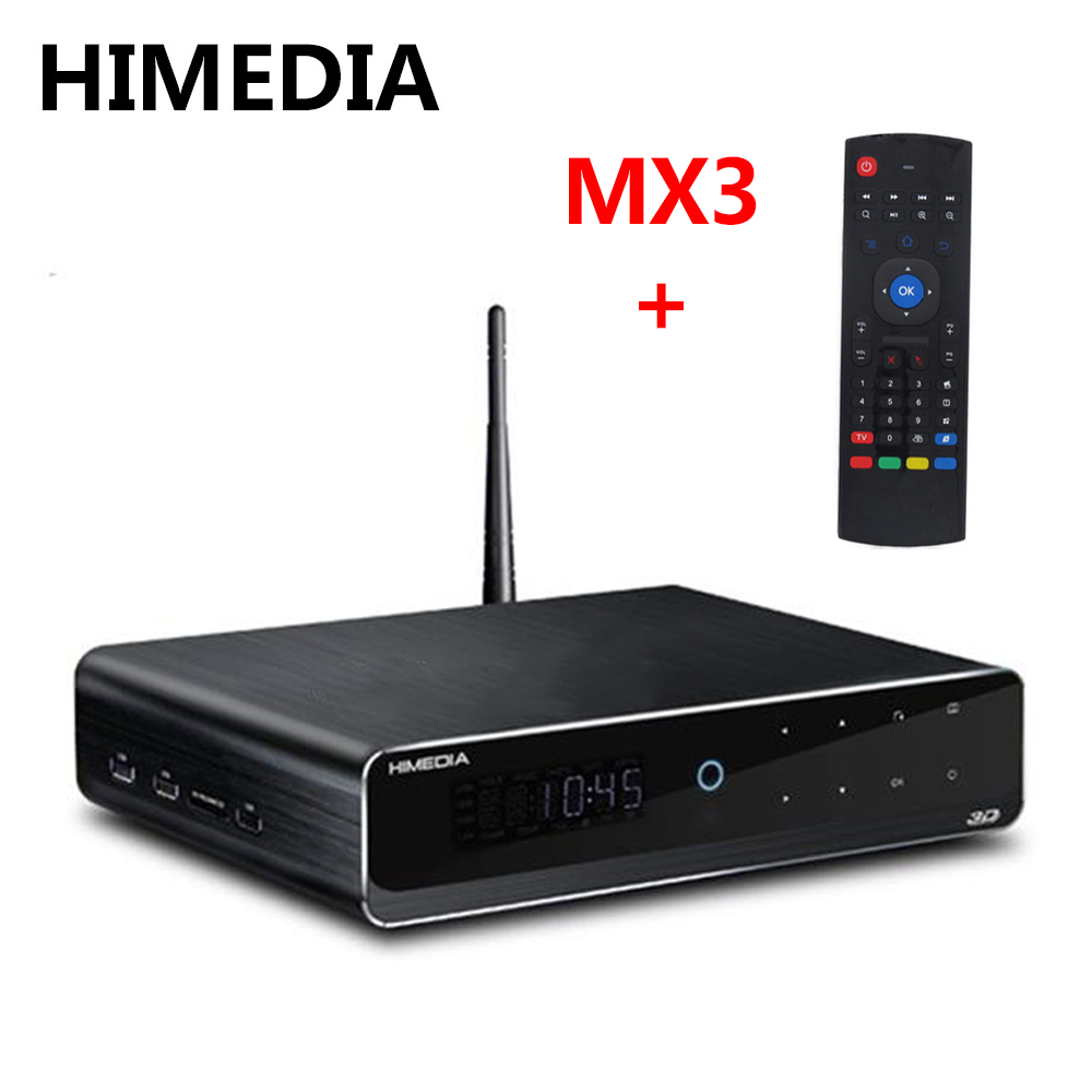 Hot 4K Ultra Output TV Himedia Q10 Pro Android Box Kodi 16.0 Google 5.1 Smart z ultra google edition