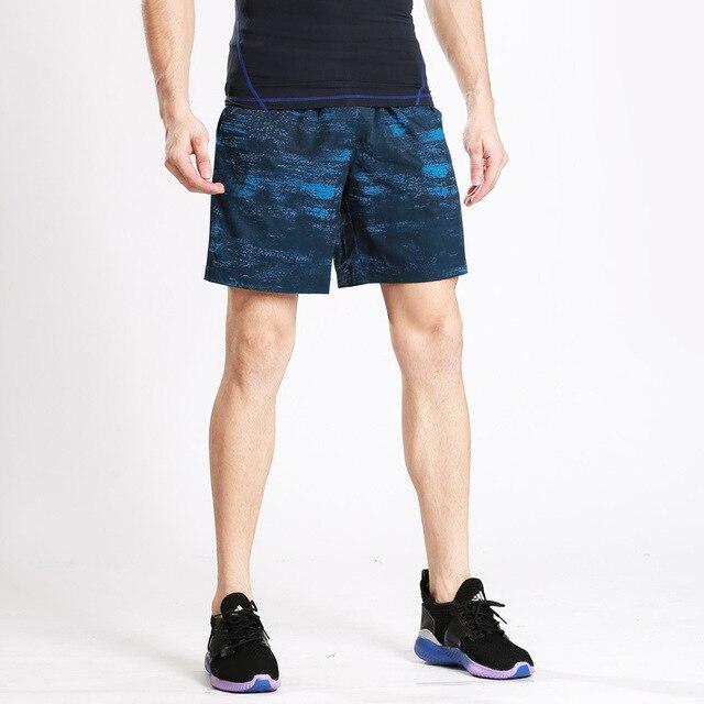 US $22.7  Uomini Pantaloncini Corti Pantaloni Larghi Vitello Lunghezza Jogger Mens Shorts Pantaloni Sportivi Uomo di Forma Fisica di Allenamento