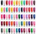RS Nail 308 colors polish wholesale gel nail polish a set of gel lacquer varnish for manicure uv led gel varnishes
