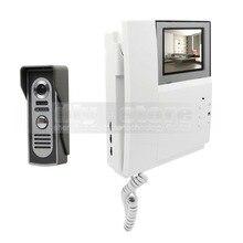 DIYSECUR Video Door Phone Video Intercom Doorbell 4.3inch HD Indoor Monitor + 600 TVLine IR Night Vision Outdoor Camera