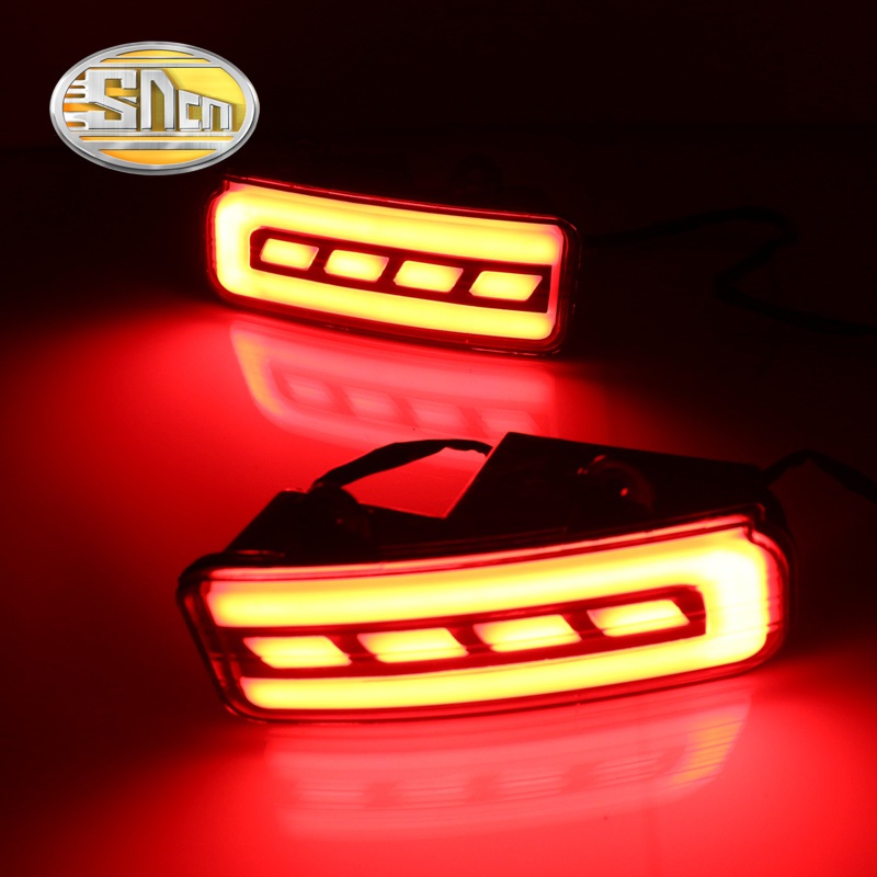 SNCN Multi-function Reflector LED Rear Fog Lamp Bumper Light Brake Light Turning Signal Light For Honda CRV CR-V 2012 - 2015