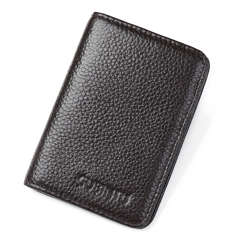 New Luxury Leather Men Wallets Short Male Purse With Coin Pocket Card Holder Brand Wallet Men Clutch Money Bag in Wallets from Luggage Bags