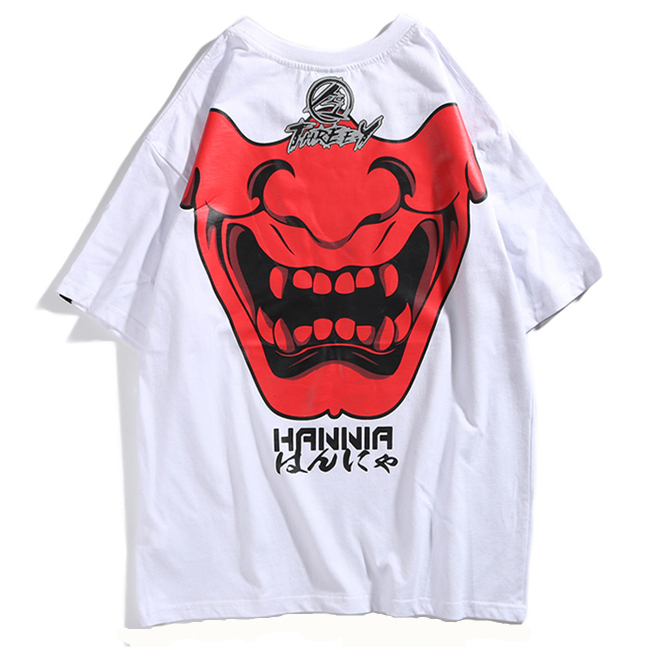 THREE Y 2019 Men 39 s Funny Goast Tee Shirt Hip Hop Premium Casual Tees Streetwear Male Short Sleeve Tops Printed Summer Unisex in T Shirts from Men 39 s Clothing