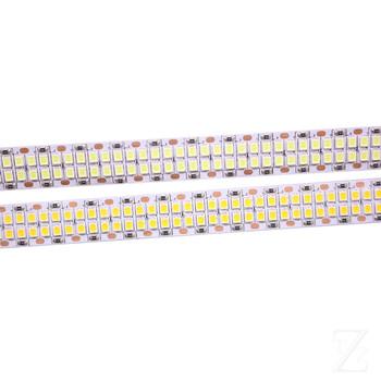 1 2 3 4 5M 240 leds m 480 leds m 12V 24V 2835 taśma LED light dwurzędowy IP20 biały ciepły biały 1200 LED 5m 2400leds 5m tanie i dobre opinie TAN ZHOU ZE SALON Runda 2-przewodowy 50000 ZAWSZE WŁĄCZONY Taśmy 12 24W m 12 v ROHS 2835 LED STRIP 240 480LED 480smd m