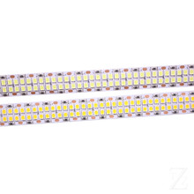 1/2/3/4/5M 240leds/m 480leds/M 12V 24V 2835 LED Strip tape light double row IP20 bianco/bianco caldo 1200led/5m 2400leds/5m