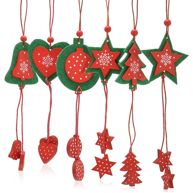 12pcs the christmas tree ornaments festival party garden ornament home decor christmas gifts wholesale christmas toys - Wholesale Christmas Gifts