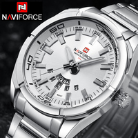 NAVIFORCE Top Luxury Brand Men Sports Watches Men S Quartz Clock Man Stainless Steel Army Military